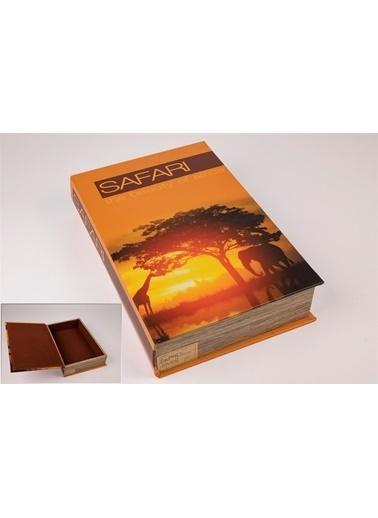 Mikasa Moor Turuncu Kitap Şek Kutu 22X33Cm Oranj